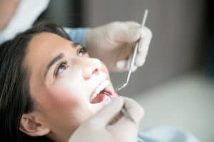 Patient undergoing a treatment for tooth decay in Hedgesville, WV